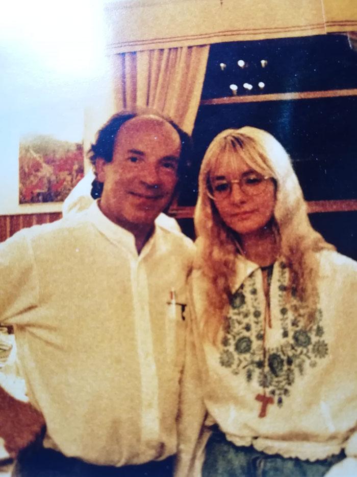 Paola Alessandra Troili con Paul Badura-Skoda